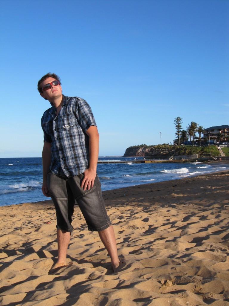 Ich am Strand 3